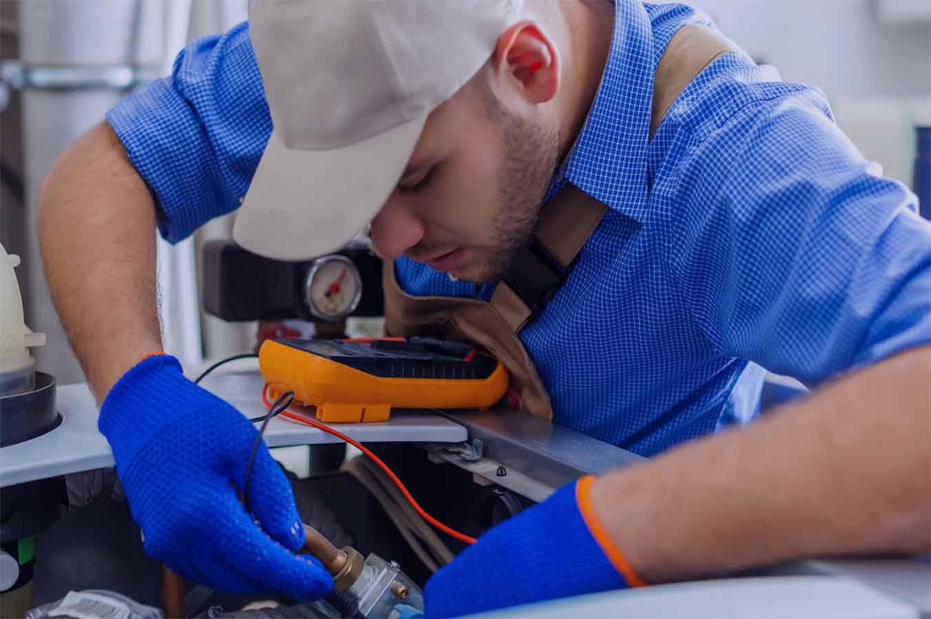 inspecter les canalisation de plomberie
